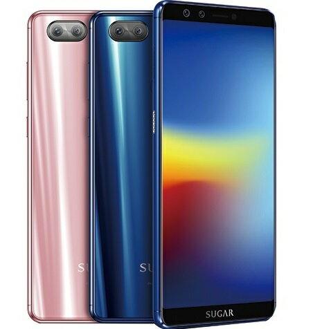 [滿$3000點數回饋10%] Sugar S11 4G / 64G 贈13000無線充電行動電源+原廠小風扇+16G記憶卡+螢幕貼 6吋 智慧型手機 1