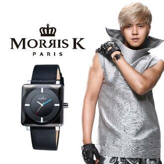 Morris K 愛不單行系列 幾何設計石英錶 MK09155-CB03(男錶)