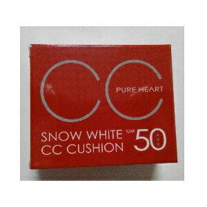 素晴館 PURE HEART 絲光透白CC防曬氣墊粉霜  超合一氣墊粉凝霜 SPF50 抗