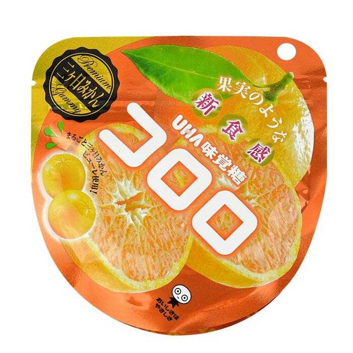 [人氣日本零食]UHA味覺糖100%果汁蜜柑軟糖  40g