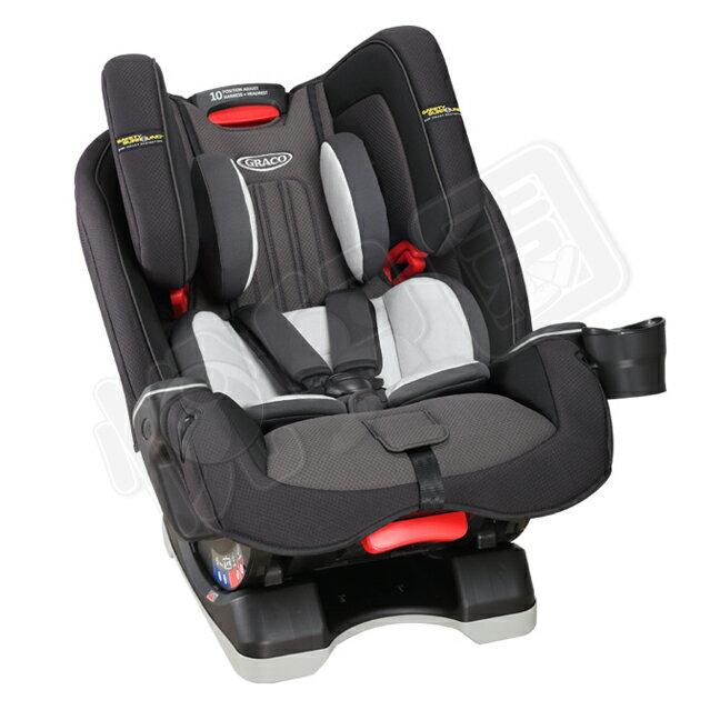 GRACO MILESTONE™ LX (0-12歲)長效型嬰幼童汽車安全座椅-大灰狼【悅兒園婦幼生活館】