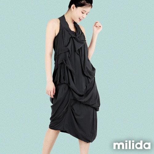 【Milida,全店七折免運】-春夏商品-無袖款-露背小禮服 5