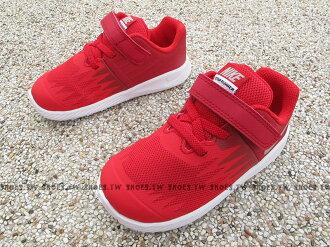 Shoestw【907255-600】NIKE STAR RUNNER TD 運動童鞋 慢跑鞋 小童鞋 紅白 黏帶