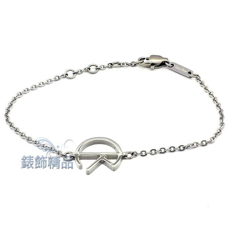 【錶飾精品】CK飾品 KJ6DMB000100-CK LOGO 女性手鍊 316L白鋼 全新原廠正品 生日情人禮物