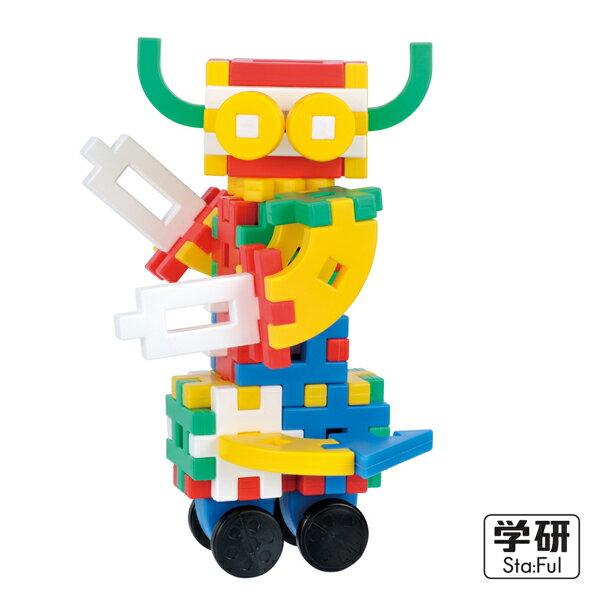 Gakken學研益智積木 - 新入門組合 2 4