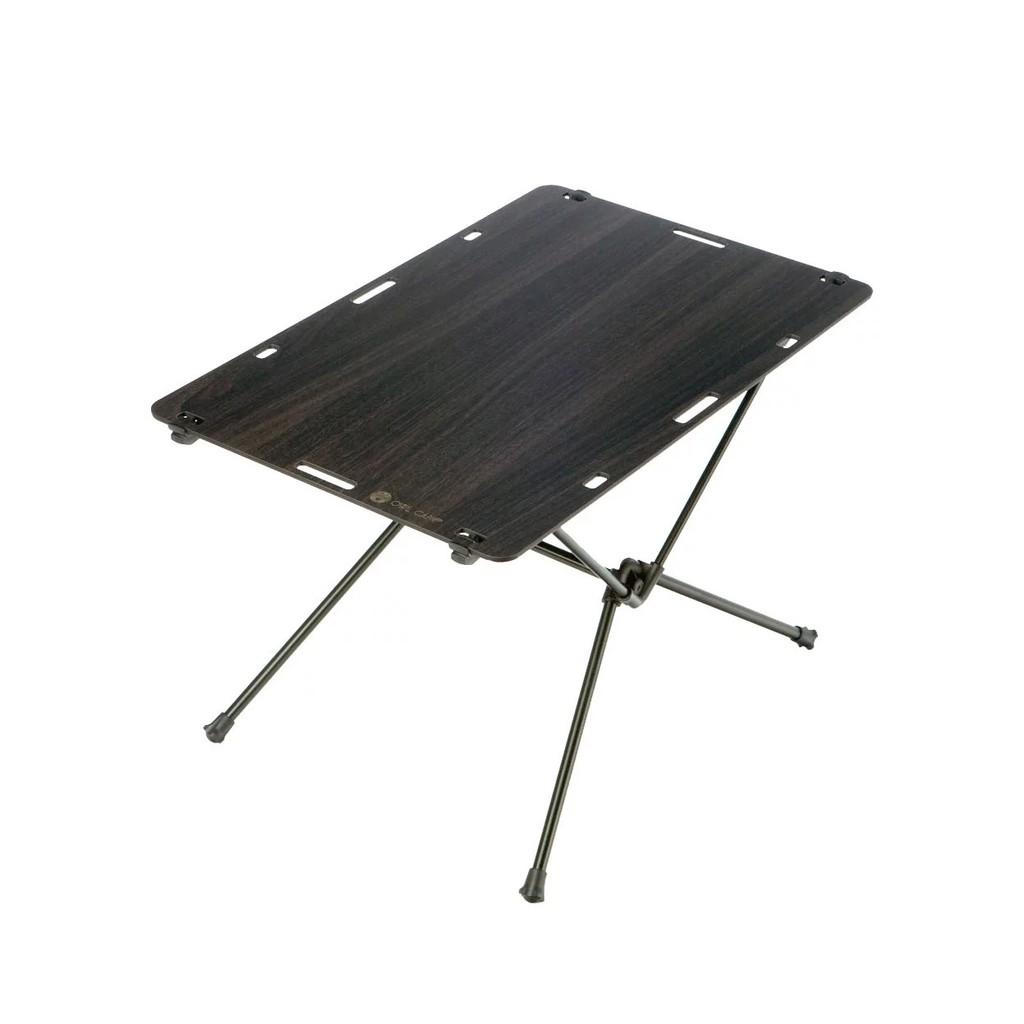 露營好物【OWL CAMP】桌子-尤加利木紋 TS-1852 休閒桌 野餐桌 折疊桌 露營桌 綠建材 鋁合金 戶外裝備
