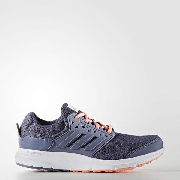 ADIDAS GALAXY 3 W 女鞋 慢跑鞋 輕量 緩震 透氣 灰 橘 【運動世界】 AQ6557