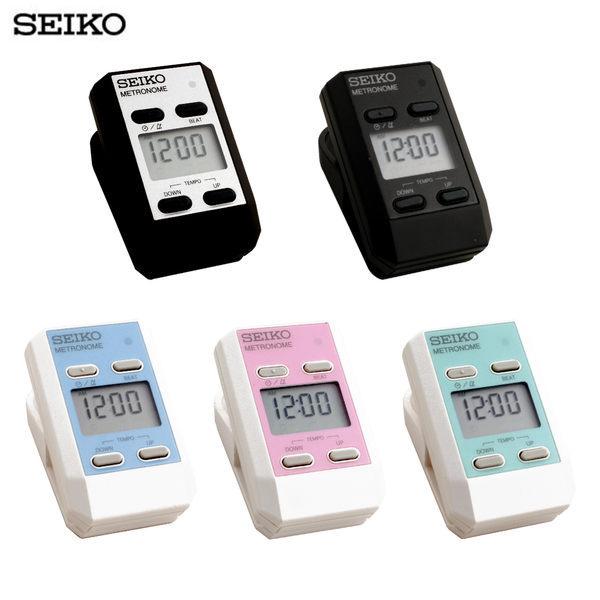 77美妝:節拍器.日本SEIKO精工牌DM51夾式電子節拍器.5色