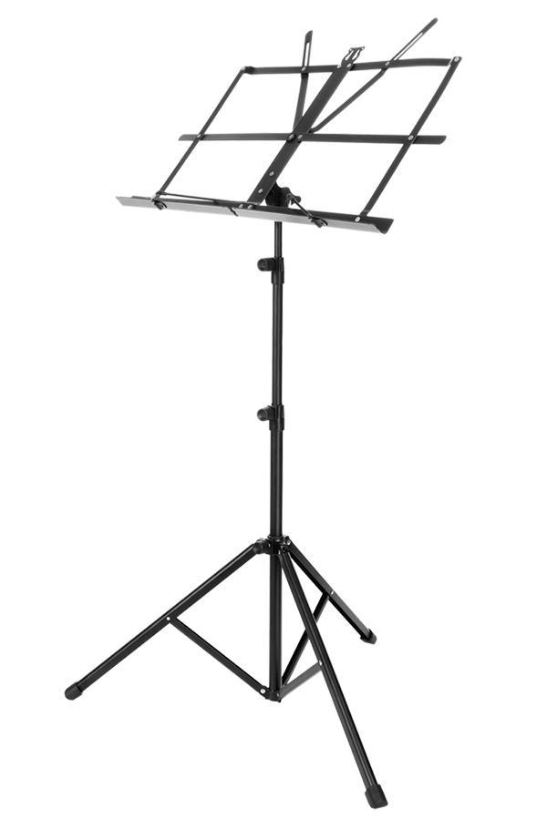 Adjustable Folding Music Stand Metal Sheet Tripod Holder With Carrying Bag 1