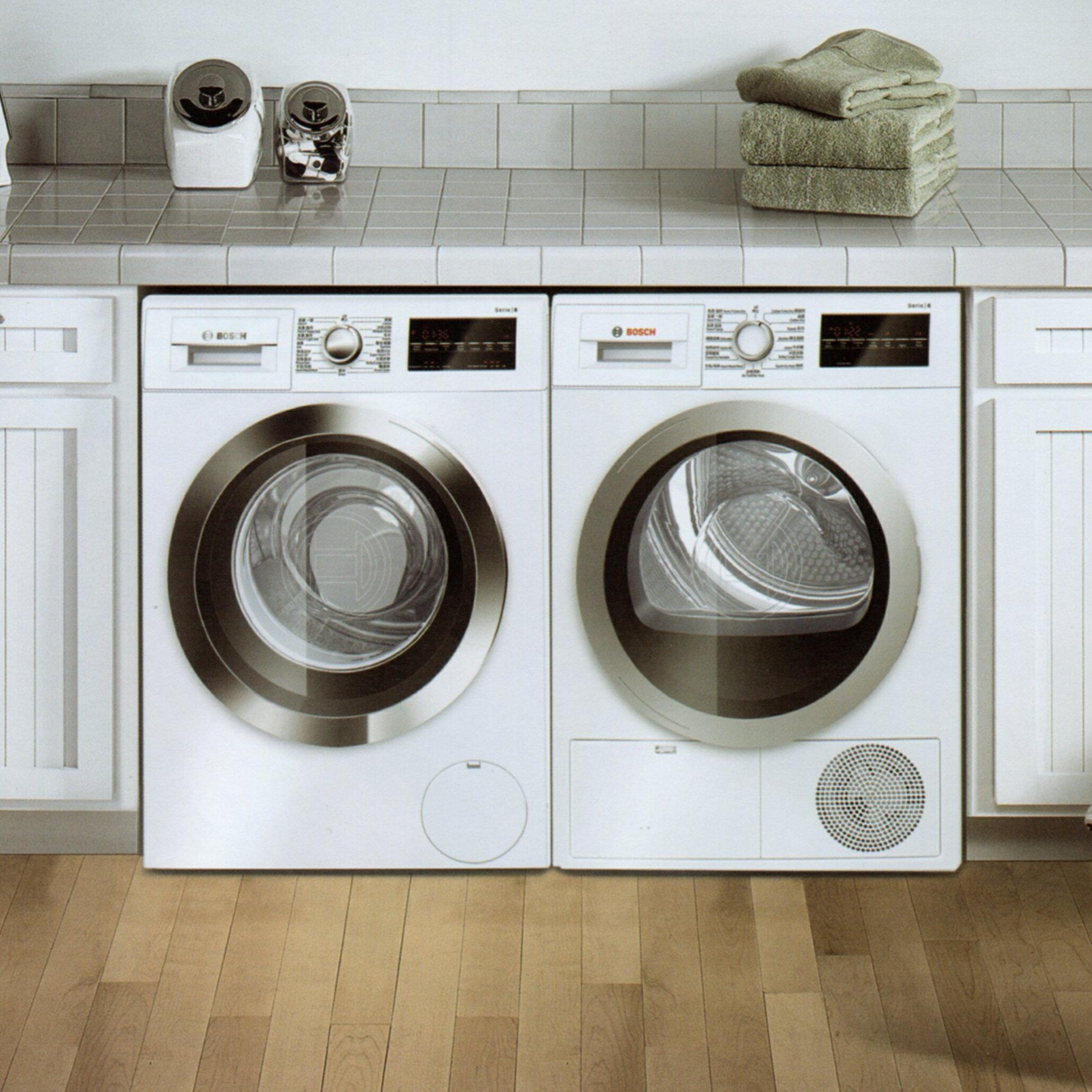 BOSCH 博世 滾筒洗衣機 WAT28402TC + WTG86401TC 冷凝式乾衣機※熱線 07-7428010