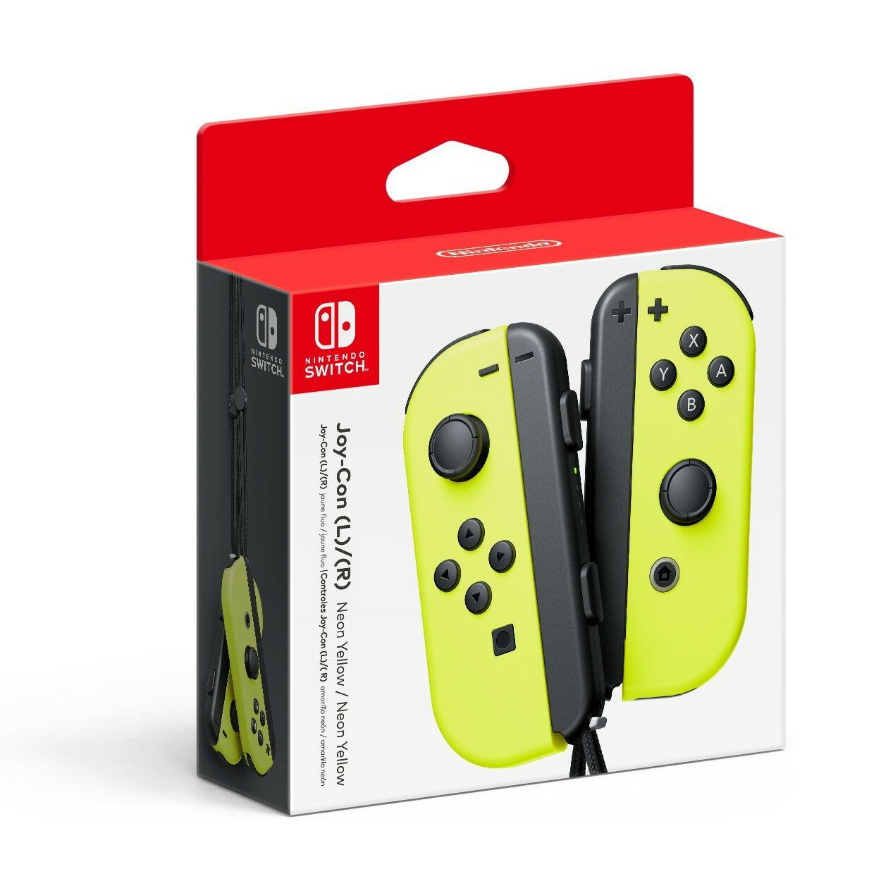 Nintendo Switch - Joy-Con - Neon Yellow - (Left/Right) Controllers 0