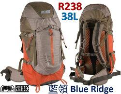 ├登山樂┤臺灣 RHINO 犀牛 Blue Ridge 38公升登山後背包 # R238