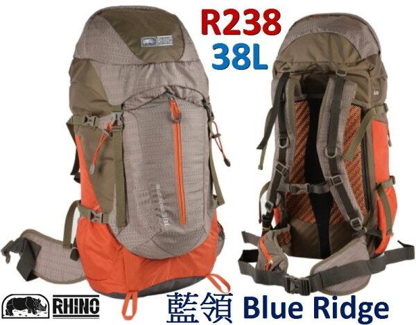 ├登山樂┤臺灣RHINO犀牛BlueRidge38公升登山後背包#R238