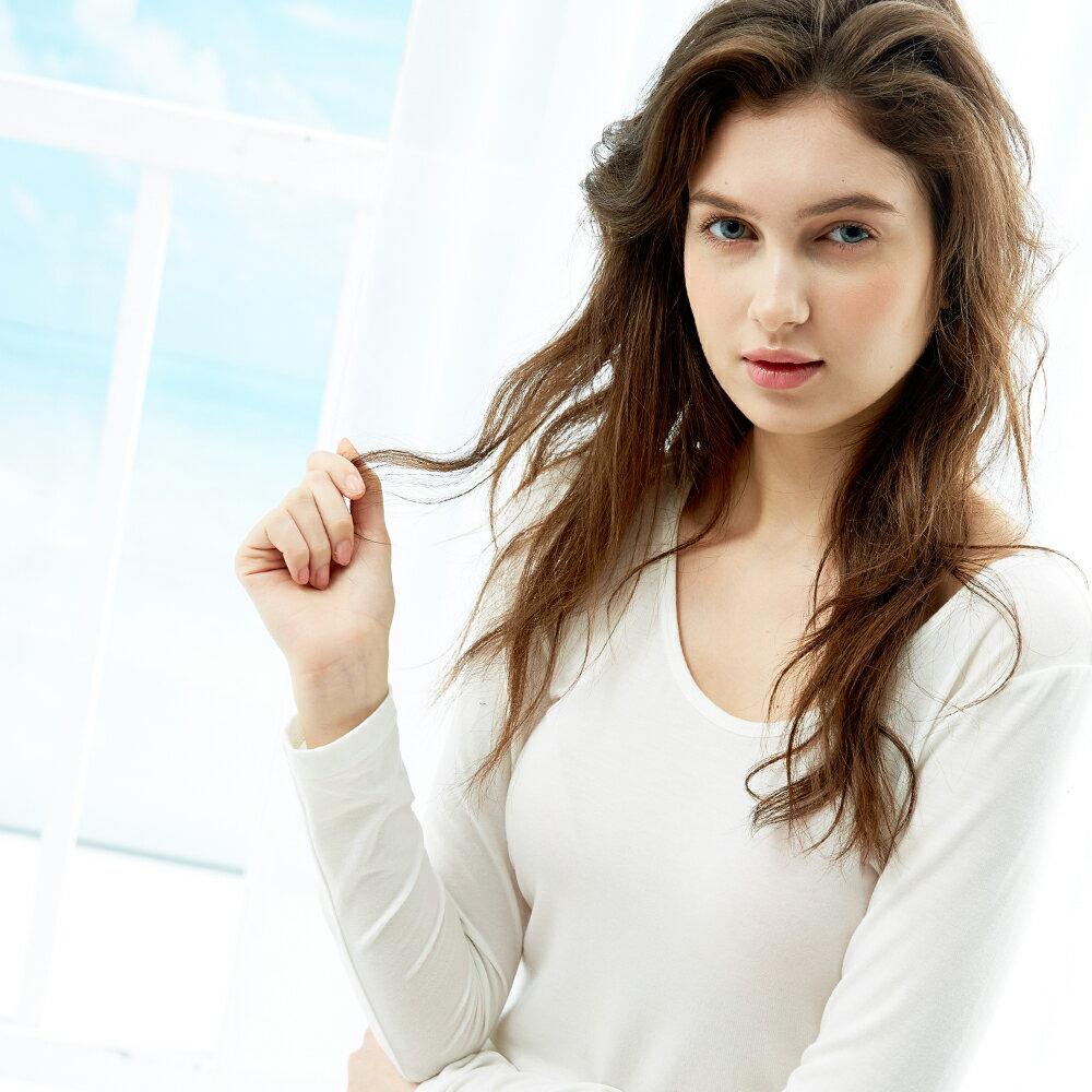 【樂活動】MIT鋅纖維抗敏-女性長袖內衣 0