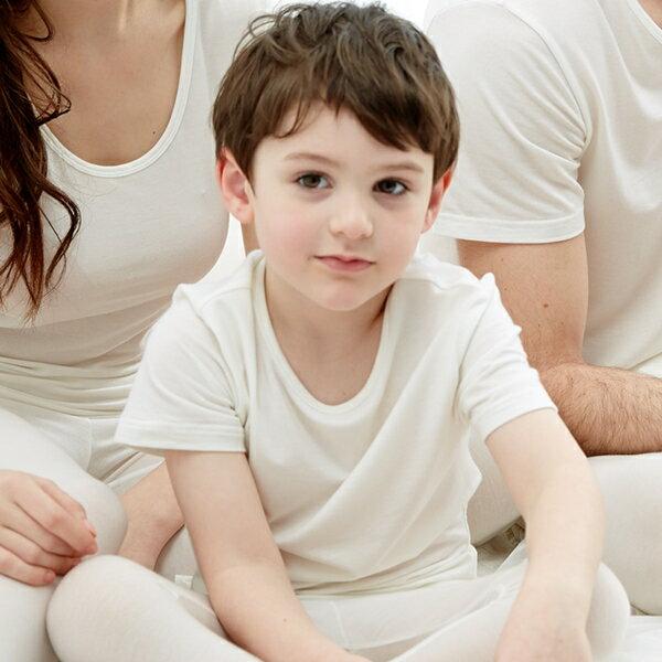 【樂活動】MIT鋅纖維抗敏-兒童短袖內衣 - 限時優惠好康折扣