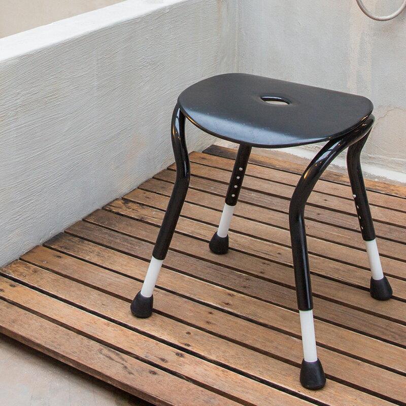 【樂活動】簡約淋浴方形寬座洗澡椅 0