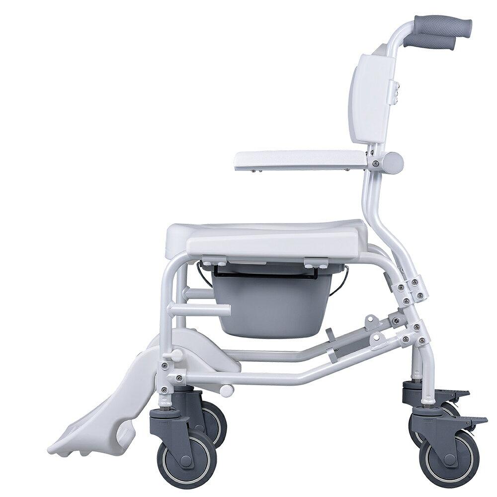 【樂活動】介護移位型附輪洗澡馬桶椅 1