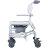 【樂活動】介護移位型附輪洗澡馬桶椅 2