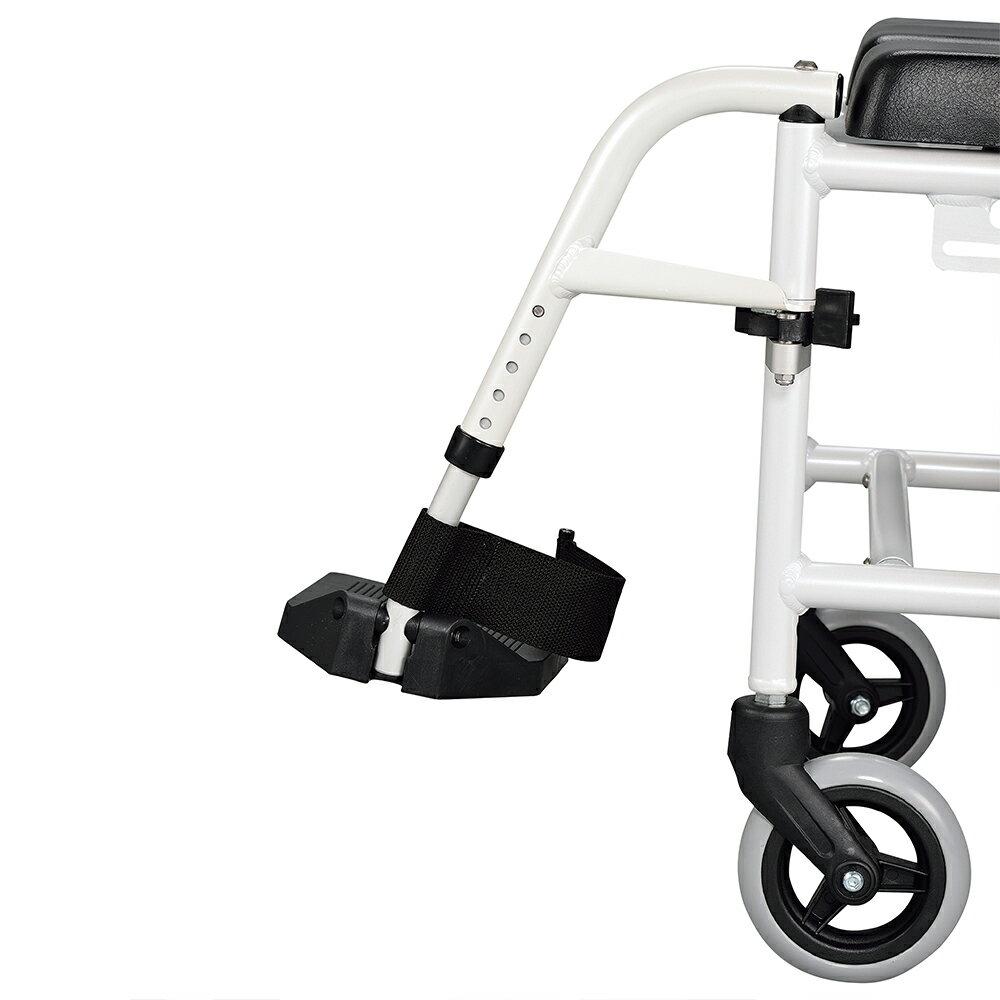【樂活動】手推移位型附輪洗澡馬桶椅 3