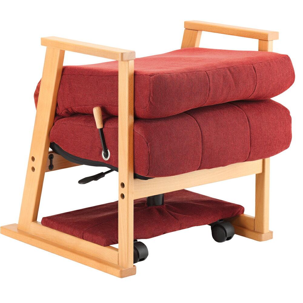 【樂活動】銀享專業護腰折疊型升降沙發椅 2