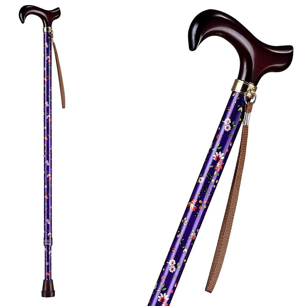 【樂活動】T字調整手杖(木質握把) 2