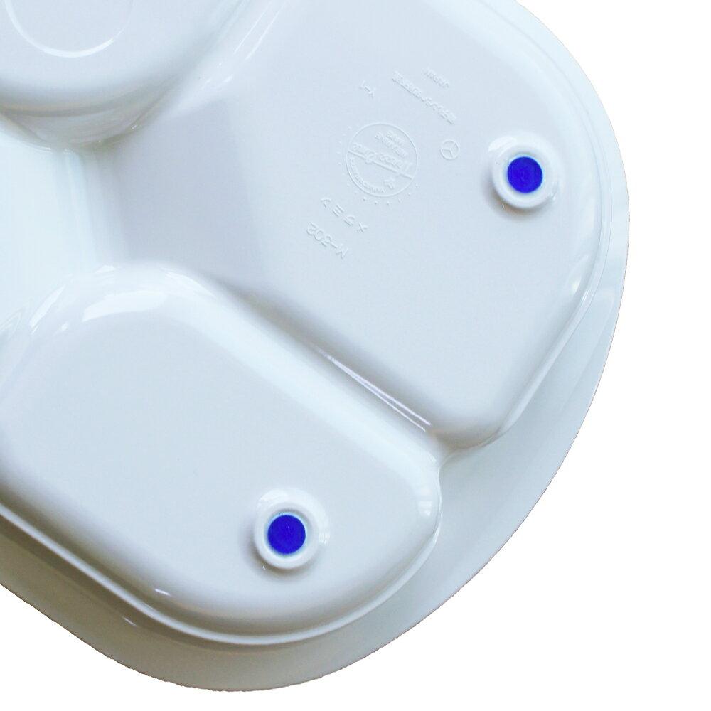 四格止滑餐盤★買再送三面式牙刷★【樂活動】 1