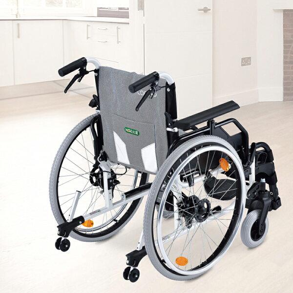 【樂活動】銀享介護鼓剎型手動輪椅