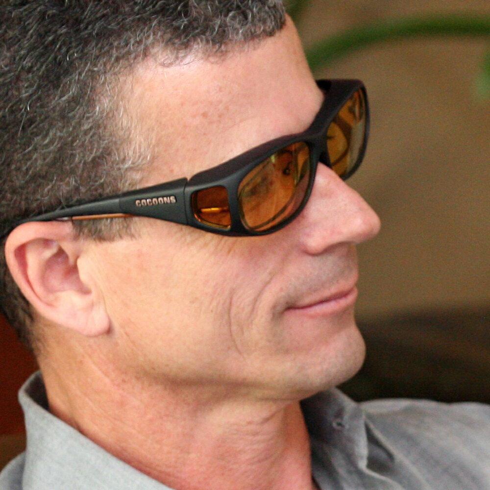 美國COCOONS專業包覆式偏光太陽眼鏡.抗藍光最高90%.100%抗紫外線.偏光眼鏡.大眼鏡【樂活動】 4