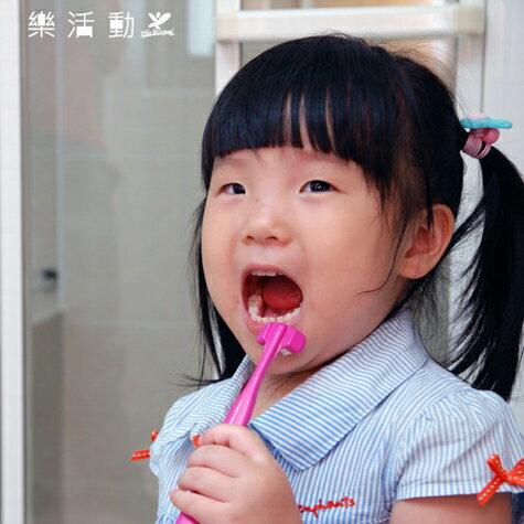 兒童專用三面式牙刷Dr. Barman's Superbrush.兒童牙刷.懶人牙刷.挪威原裝進口【樂活動】 1