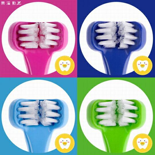 兒童專用三面式牙刷《活力繽紛四色組》Dr. Barman's Superbrush.兒童牙刷.懶人牙刷.挪威原裝進口【樂活動】 0