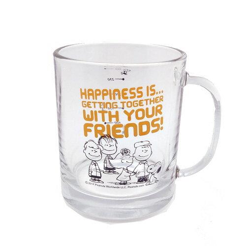 Snoopy玻璃馬克杯(390cc)【愛買】
