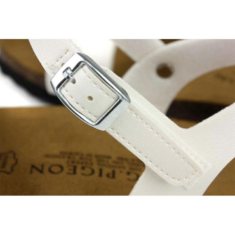 G.P 阿亮代言 涼鞋 勃肯鞋型 女鞋 白色 W713-80 no384 2
