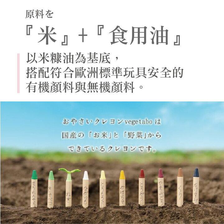 安全蠟筆 / 無毒蠟筆   日本🇯🇵進口 安全無毒米蠟筆16色 日本製 原裝原廠進口-安全蠟筆-無毒蠟筆 4