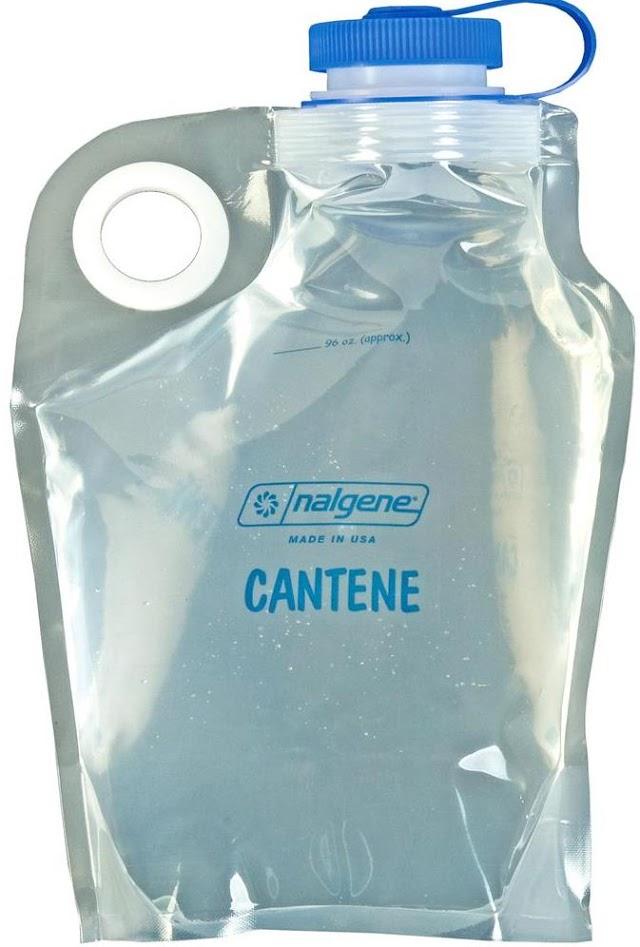 Nalgene 彈性寬口摺疊水袋/水壺 3L 2595-0096 Flexible Cantenes