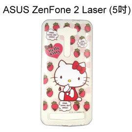 Hello Kitty 透明軟殼 [草莓] ZenFone 2 Laser ZE500KL Z00ED (5吋)【三麗鷗正版授權】