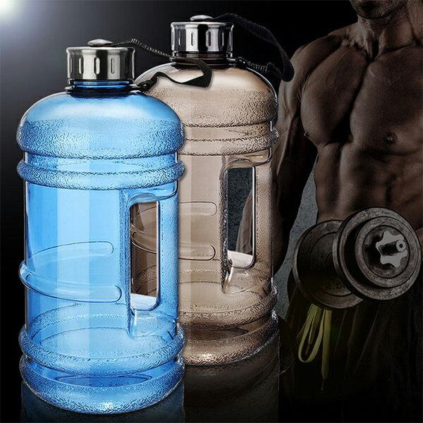 PS Mall 夏日冷水杯2.2L環保塑膠冷水壺健身房【J1065】 4