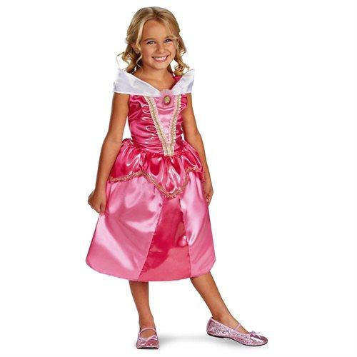 Aurora Sparkle Disney Sleeping Beauty Classic Childrens Costume 0