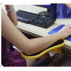 黃/電腦手托架/護腕墊/電腦手臂滑鼠支撐架/可旋轉 人體工學托架 滑鼠架 滑鼠護腕墊 DIGITAL  LTD1115勛