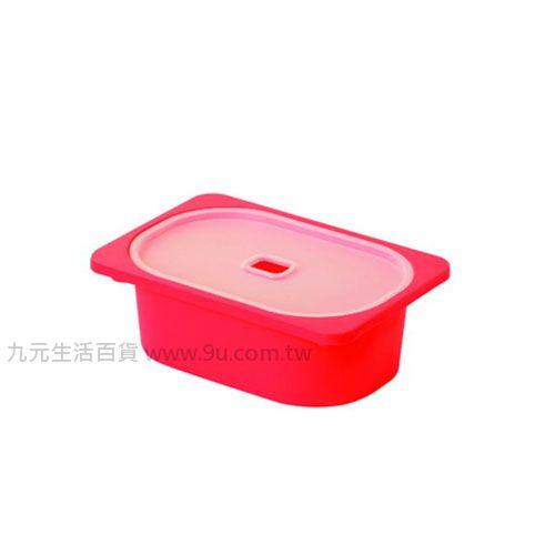 【九元 】聯府 AW51-5 小卡拉1號附蓋儲物盒(紅) 置物 收納 AW515