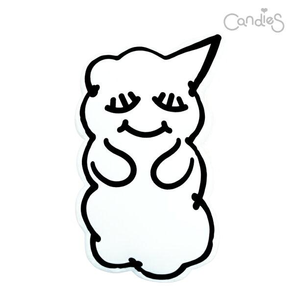 【Candies】睡眠寶寶抱枕(白)