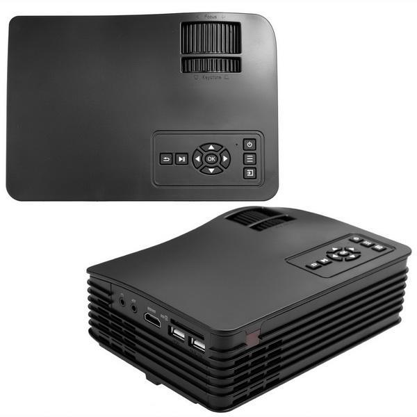 Mini LED LCD Projector HD 1080P PC AV USB SD Home Cinema Theater Multimedia 4