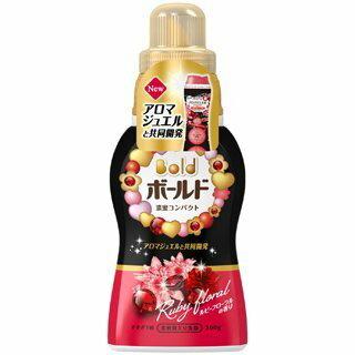 【日本 P&G】濃蜜花香超濃縮洗衣精-360g 含柔軟成份,用量超省 紅寶石 香香豆 新配方