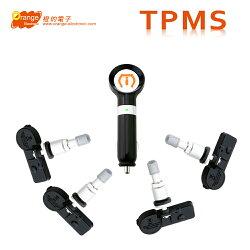 【贈3孔擴充器】Orange P418 IPhone專用版 無線胎壓監測系統/汽車/手機/輪胎/安全
