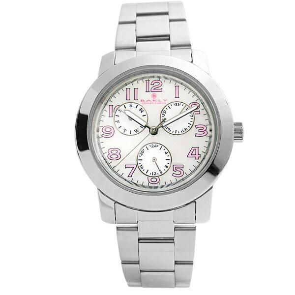 ~完全計時~OUTLET手錶館│美國品牌BAKLY 新品 PINK 腕錶 ^(BA7006