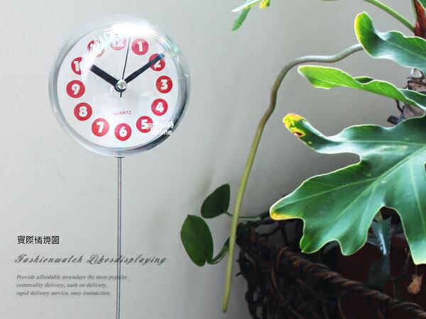 【完全計時】球型搖擺小座鐘 超時尚天線鐘 禮物 組裝式 桌上配件 拍照 設計師款