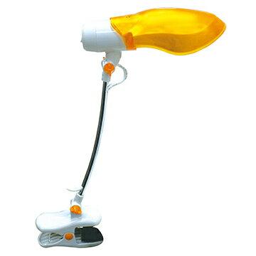 【迪特軍3C】SAMPO聲寶輕巧節能夾燈 LH-U906VL-黃