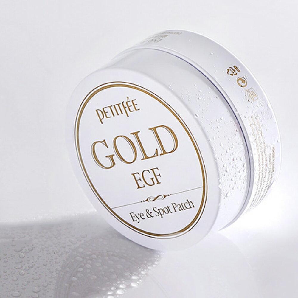 Petitfee EGF重生金箔眼周修護凝凍膜(眼膜30對+眉心膜30片)