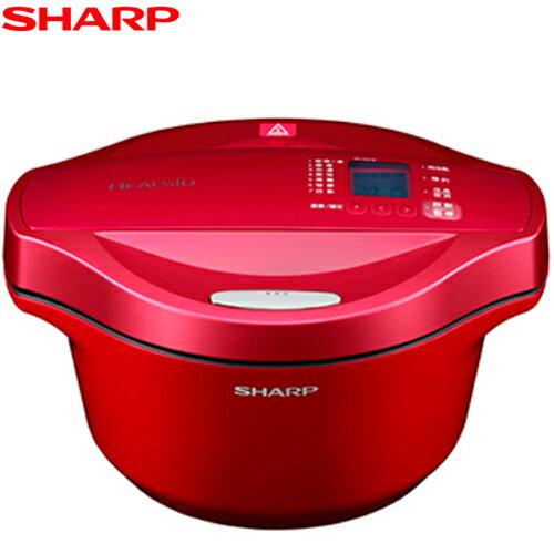 【愛媽咪精選】SHARP 夏普 KN-H24TB 0水鍋2.4L超大容量 7種美味行程