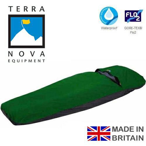 Terra Nova 防水透氣露宿袋/ DI發現GT防水透氣露宿袋 Discovery Bivi 英國製 Gore-tex FLO2 52D0000