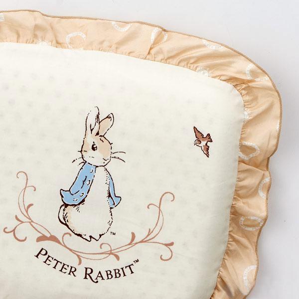 奇哥 優雅比得兔乳膠圓型枕 3